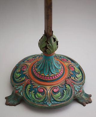 Art Nouveau Bridge Lamp