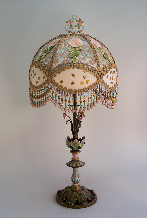 Nightshades French Dome Victorian Lampshade detail