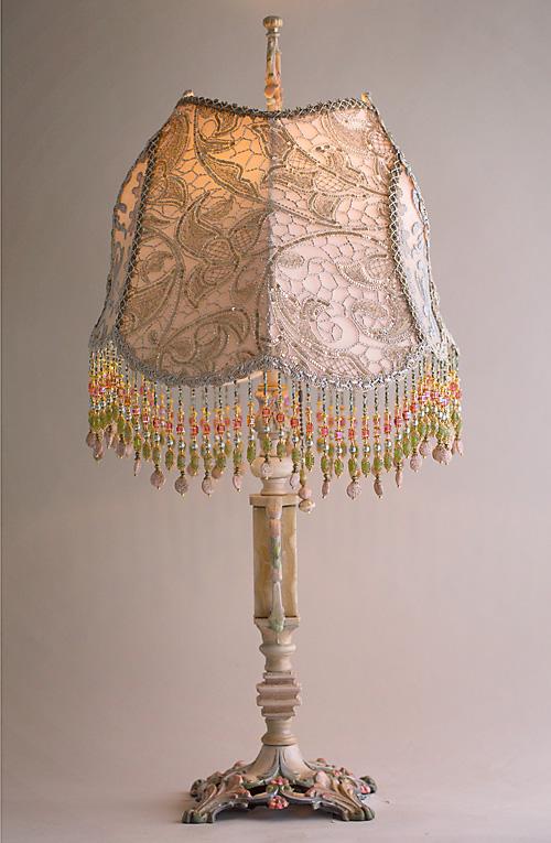 Rose Gold Lamp Shade