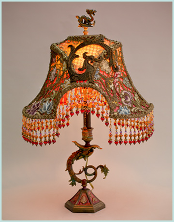victorian lampshade