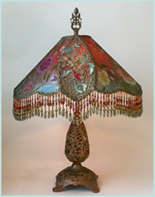 Victorian Lamp with Oil Lamp Base