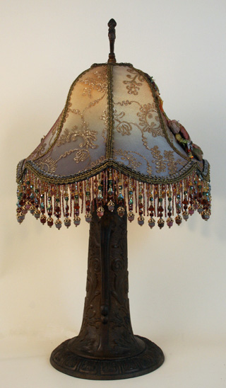 side view of lamp
