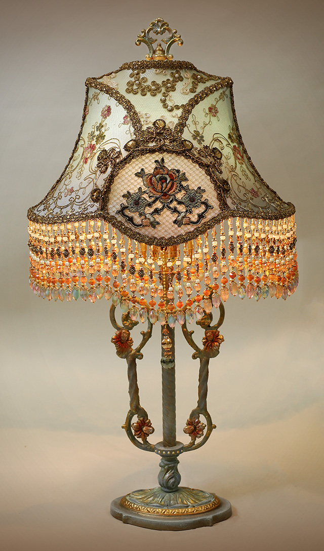 Marie Antionette Style Victorian Lampshade