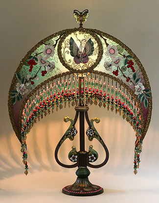 Chinese Victorian Lampshade