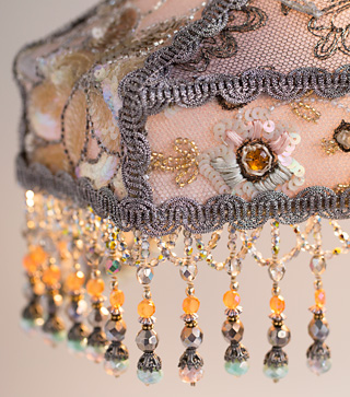 Sterling Victorian Lampshade Downton Abbey style