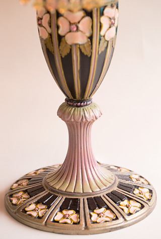 victorian lampshade base